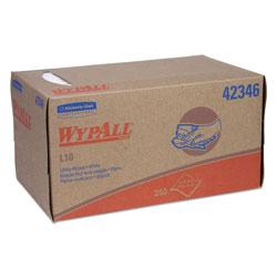 WypAll* L10 Towels, POP-UP Box, 1-Ply, 10 1/4 x 9, White, 250/Box