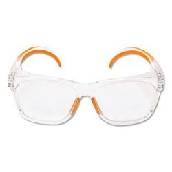 KleenGuard* Maverick Safety Glasses, Clear/Orange, Polycarbonate Frame