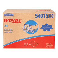 WypAll* X60 Cloths, 16.8 in x 12 1/2 in, 252/Carton