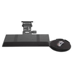 Kelly Computer Supplies Leverless Lift N Lock Keyboard Tray, 19w x 10d, Black