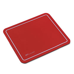 Kelly Computer Supplies Optical Mouse Pad, 9 x 7-3/4 x 1/8, Red
