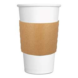 Chesapeake 8 oz., 10 oz. Kraft Coffee Sleeve