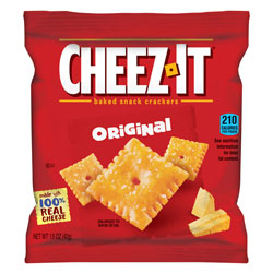 Cheez-It® Cheez-It Crackers, 1.5 oz Single-Serving Snack Pack, 8/Box