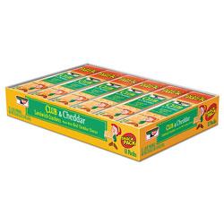 Keebler Sandwich Cracker, Club and Cheddar, 8 Cracker Snack Pack, 12/Box