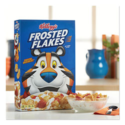 Kellogg's Frosted Flakes Breakfast Cereal, Bulk Packaging, 40 oz Bag, 4/Carton