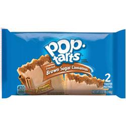 Pop-Tarts® Pop Tarts, Frosted Brown Sugar Cinnamon, 3.52oz, 2/Pack, 6 Packs/Box