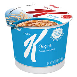 Kellogg's Special K Original Breakfast Cereal, 1.25 oz, 6/Box