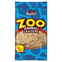 Keebler Zoo Animal Crackers, Original, 2 oz Pack, 80/Carton