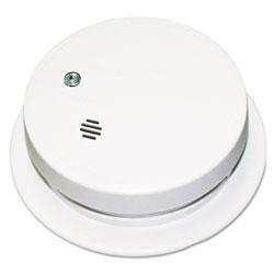 Kidde Safety Battery-Operated Smoke Alarm Unit, 9V, 85db Alarm, 3 7/8 in dia