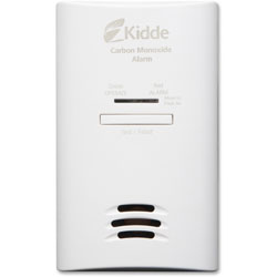 Kidde Safety AC/DC Plug-In Detector, White