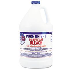 KIK Liquid Bleach, 1gal Bottle, 6/Carton