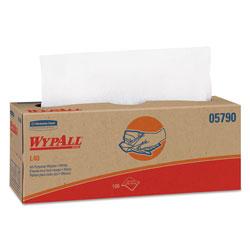 WypAll* L40 Towels, POP-UP Box, White, 16 2/5 x 9 4/5, 100/Box, 9 Boxes/Carton