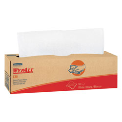 WypAll* L30 Towels, POP-UP Box, 9 4/5 x 16 2/5, 100/Box, 8 Boxes/Carton