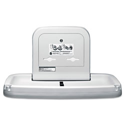 Koala Kare Horizontal Baby Changing Station, 35.19 x 22.25, Cream
