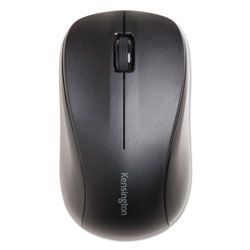 Kensington Wireless Mouse for Life, 2.4 GHz Frequency/30 ft Wireless Range, Left/Right Hand Use, Black