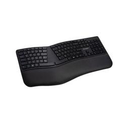 Kensington Pro Fit Ergo Wireless Keyboard, 18.98 x 9.92 x 1.5, Black