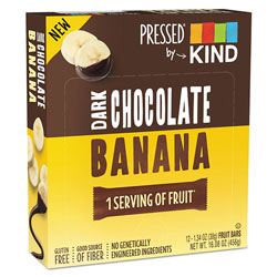 Kind Pressed by KIND Bars, Dark Chocolate Banana, 1.34 oz, 12/Pack