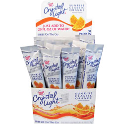 Kraft Foods Crystal Mix Sticks, .16 oz., 30/BX Classic Orange