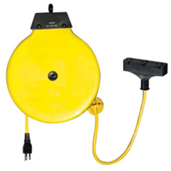 K Tool International Retractable Extension Cord Reel With 30' Cord
