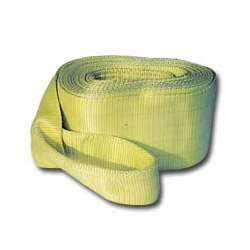 "K Tool International Tow Strap w/Looped Ends 4"" x 30' 40000lb."