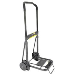 Kantek Ultra-Lite Folding Cart, 250 lb Capacity, 11 x 13.25 Platform, Black