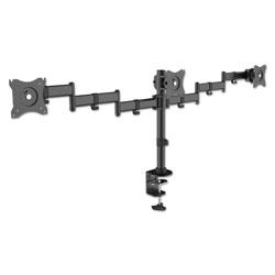 Kantek Articulating Multiple Monitor Arms for Three Monitors, Desk Mount