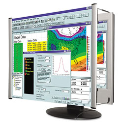 Kantek LCD Monitor Magnifier Filter, Fits 19 in-20 in Widescreen LCD, 16:10 Aspect Ratio