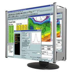 Kantek LCD Monitor Magnifier Filter, Fits 24 in Widescreen LCD, 16:9/16:10 Aspect Ratio