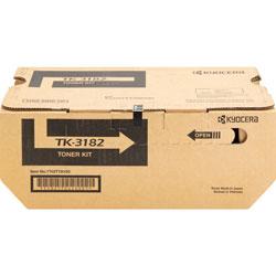 Kyocera Toner Cartridge, f/ P3055dn, 21,000 Page Yield, Black