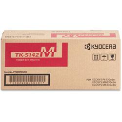 Kyocera Toner Cartridge f/6130/6030, 5000 Page Yield, Magenta