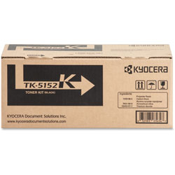 Kyocera Toner Cartridge f/6035/6535, 12,000 Page Yield, Black