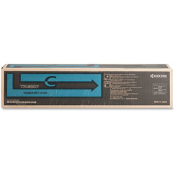 Kyocera Toner Cartridge, 15,000 Page Yield, Cyan