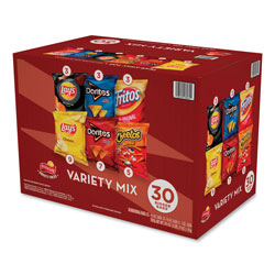 Frito Lay Classic Variety Mix, Assorted, 30 Bags/Box