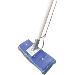 L.C. Industries Butterfly Mop, w/ Scrubber Strip, Blue