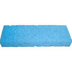 L.C. Industries Mop Sponge Refill, w/ Scrubber Strip, Blue