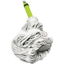 L.C. Industries Twist Mop, Ergonomic Handle, Cotton