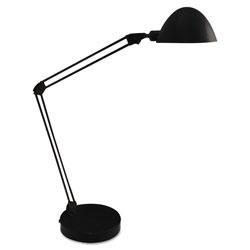 Ledu LED Desk and Task Lamp, 5W, 5.5 inw x 13.38 ind x 21.25 inh, Black