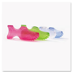 Tippi® Micro-Gel™ Tippi Micro-Gel Fingertip Grips, Size 5, Small, Assorted, 10/Pack
