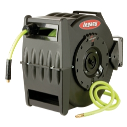 Legacy Levelwind Retractable Hose Reel for Air with 3/8 in I.D. x 75' Hose
