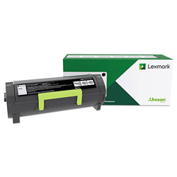 Lexmark 50F1H00 Return Program High-Yield Toner, 5000 Page-Yield, Black