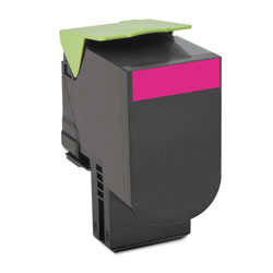 Lexmark 70C1HM0 Return Program High-Yield Toner, 3000 Page-Yield, Magenta
