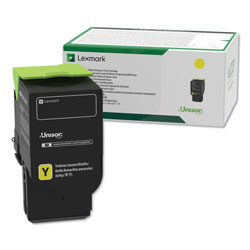 Lexmark C2310Y0 Toner, 1000 Page-Yield, Yellow