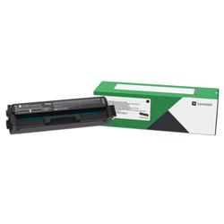Lexmark C3210K0, Return Program Toner Cartridge, 1500 Page-Yield, Black