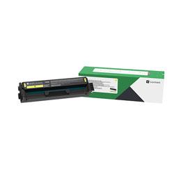 Lexmark C341XY0 Extra High-Yield Return Program Toner Cartridge, 4,500 Page-Yield, Yellow