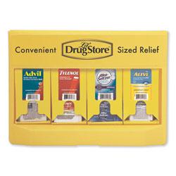 Lil Drugstore Single-Dose Medicine Dispenser, 105-Pieces, Plastic Case, Yellow