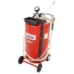 Lincoln Lubrication 25 Gallon Used Fluid Evacuator