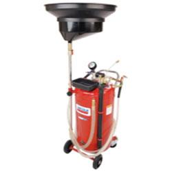 Lincoln Lubrication 25 Gallon Used Fluid Combo Drain / Evacuator