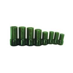 """Lisle 8 Piece Tap Socket Set for all MCTI Taps thru 1/2"""""""