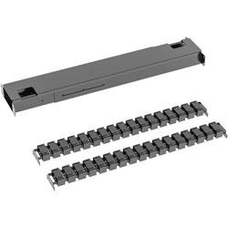 Lorell Beam & Cable Management Spine, Black, 1 Pack, Acrylonitrile Butadiene Styrene (ABS)