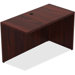 Lorell Top 1-1/2 in, Return 24 in x 48 in x 30 in, Mahogany